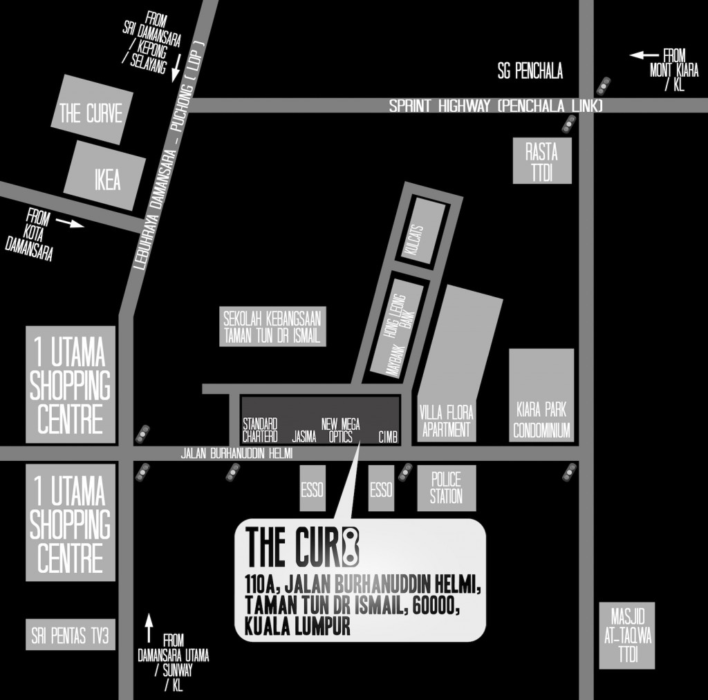the curb map