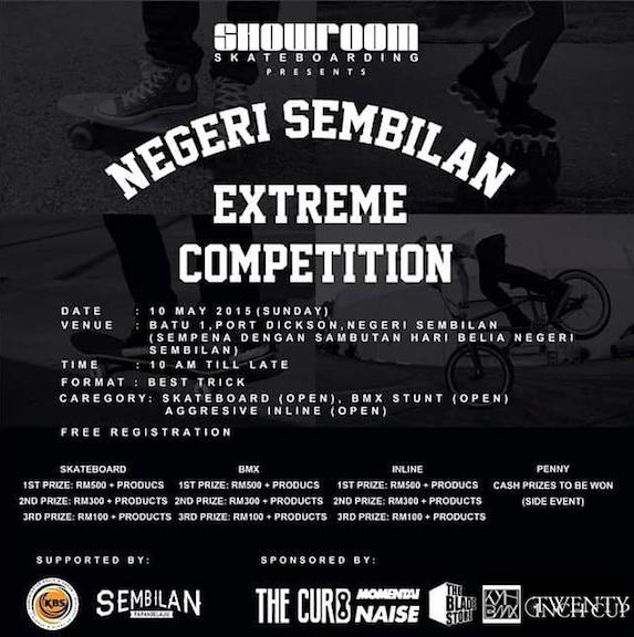 negeri sembilan extreme competition kayuhbmx