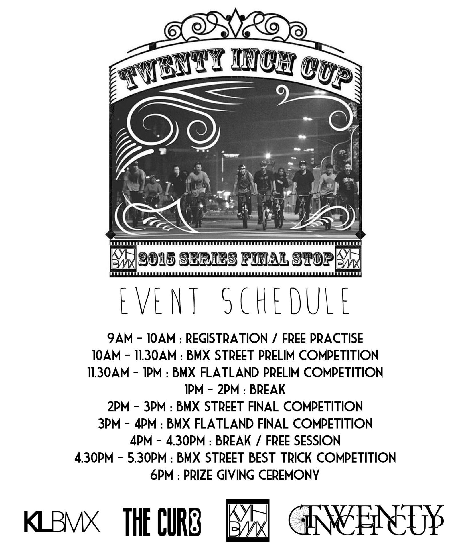 TIC schedule