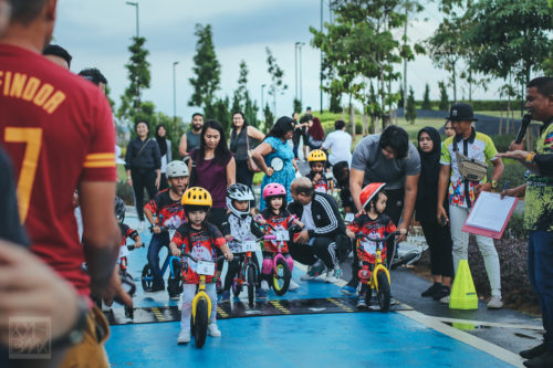 Kayuhbmx show at Tengku Matin Kareem & Tengku Maryam Massarah birthday party