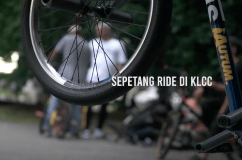 Sepetang ride di KLCC